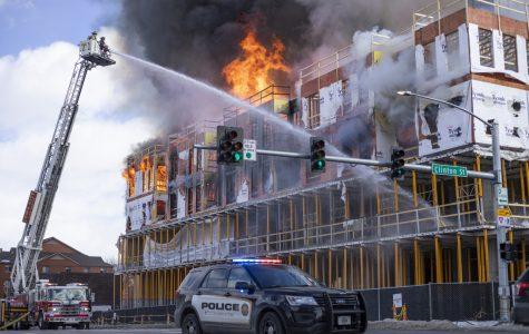 Iowa City fire personnel investigate Hieronymus Square fire