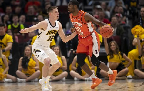 Numbers behind Iowa's first Big Ten Tournament win over Illinois