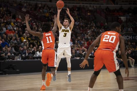VIDEO: Highlights from Michigan's Big Ten Tournament win over Iowa
