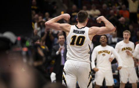 Joe Wieskamp rejects a would-be dunk in Columbus