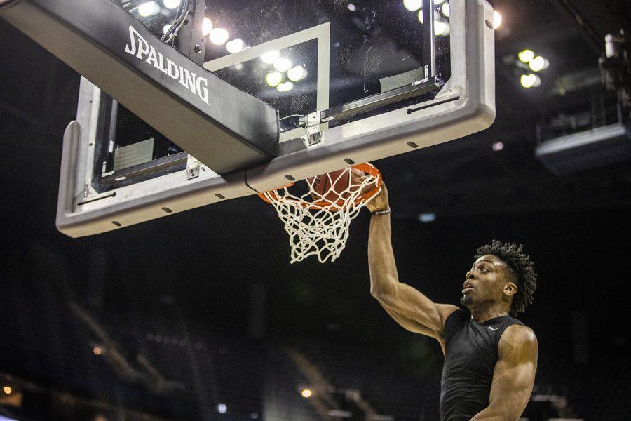 Photos: NCAA Iowa men's basketball practice (3/21/19)