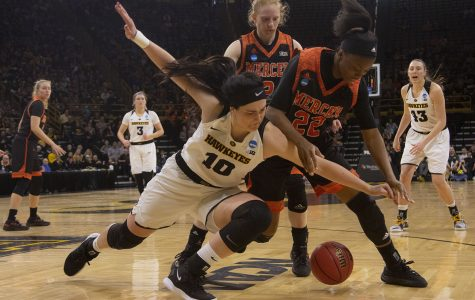 Defense saves Iowa women from turnover disaster