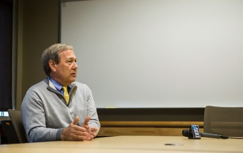 Q&A: UI President Bruce Harreld talks free speech, campus changes, #DoesUIowaLoveMe