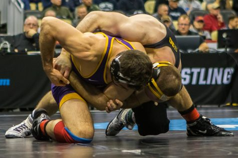 Photos: Iowa Wrestling vs. Princeton (11/16/18)