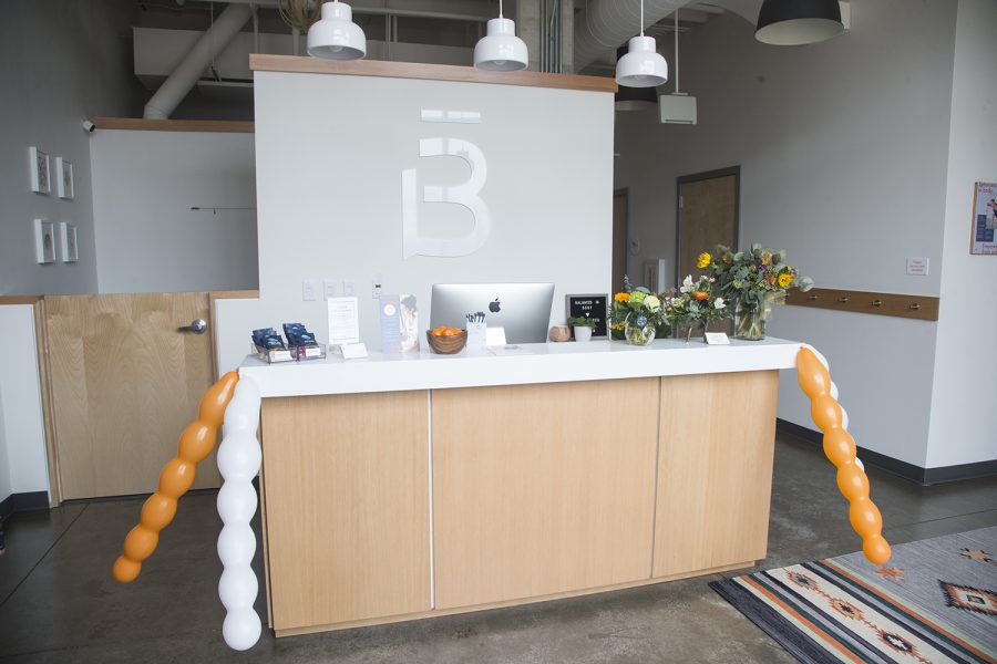 Barre3, a new barre workout business in Iowa City, is seen on it's opening day on Thursday March 28 2019.