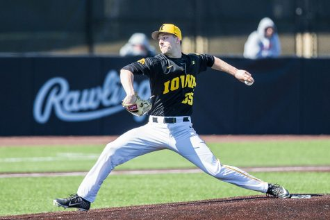 Iowa baseball searches for improvement against Bradley after Indiana sweep