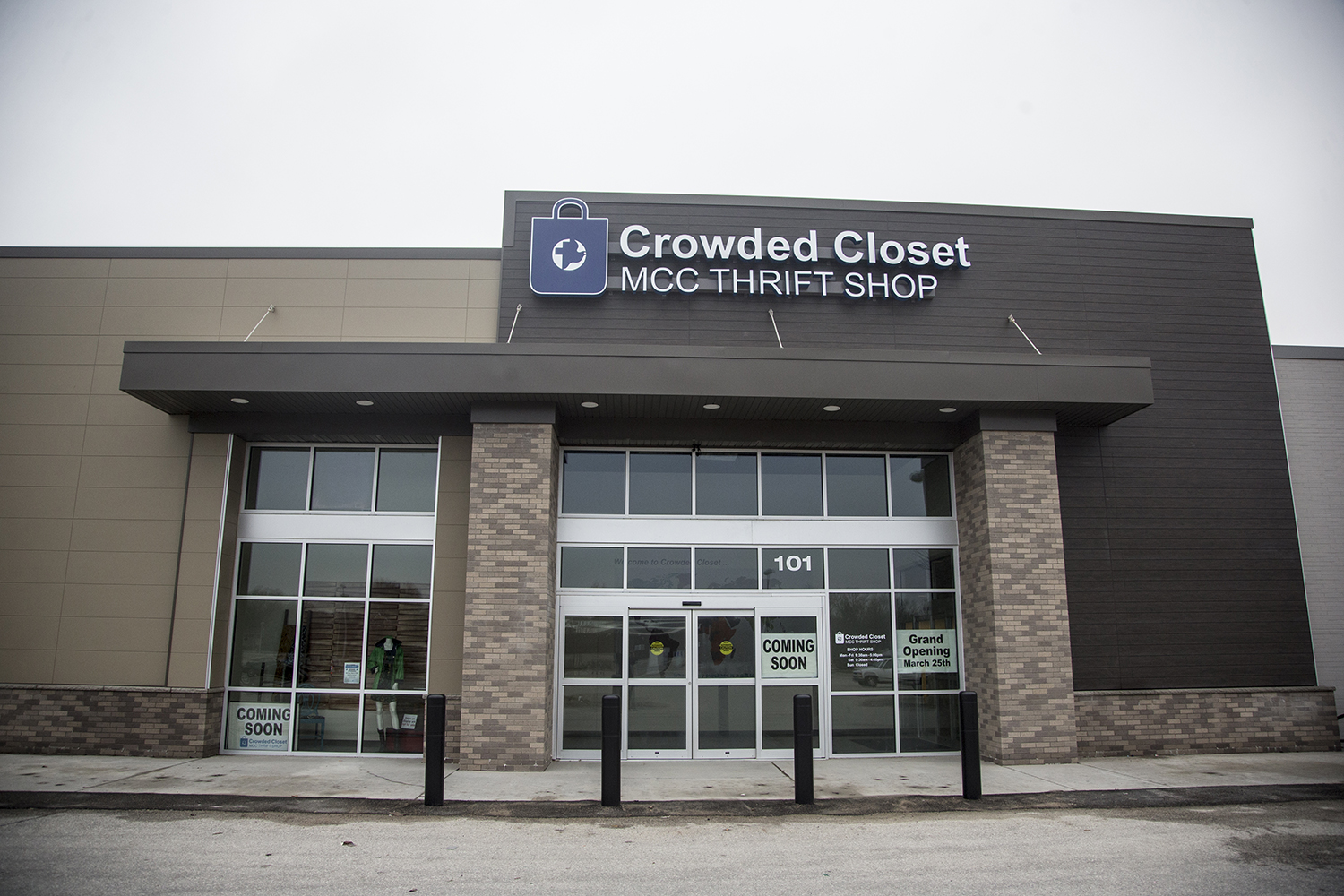 Crowded Closet is seen on Sunday, March 24, 2019. The thrift shop relocated to 851 Hwy 6 E and will have a grand opening on Monday, March 25.