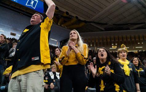 Iowa women's basketball takes advantage of home-court opportunity
