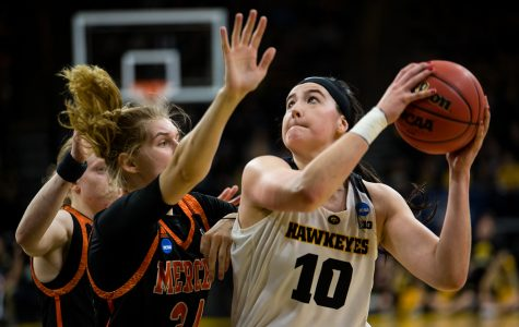 Photos: Iowa women's basketball NCAA tournament first round vs. Mercer (3/22/19)