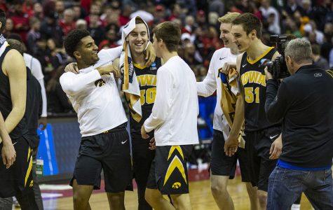 Connor McCaffery dealt with sickness before Iowa basketball's win over Cincinnati
