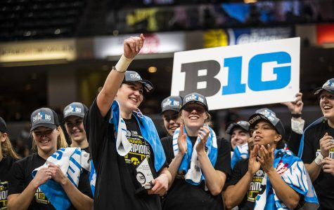 Gustafson named Big Ten Female Athlete of the Year