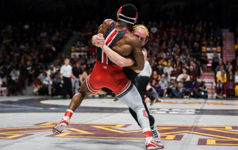 Marinelli becomes Iowa's 200th Big Ten champion