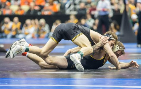 What happened, what's next: NCAA Wrestling Championships Session 1