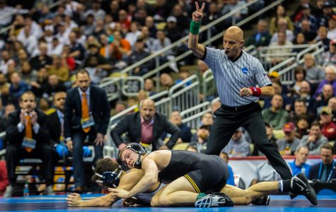 Spencer Lee is a two-time National Champion