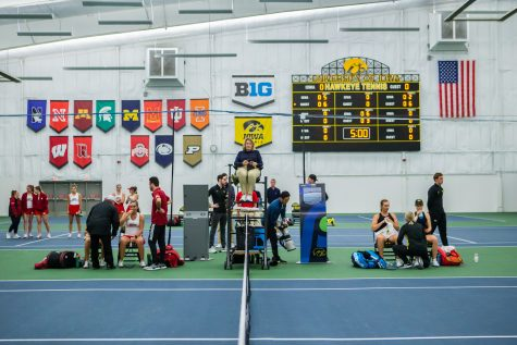 Hawkeye men's tennis eyeing end of season run