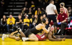 Lee focused on postseason for Hawkeye wrestling