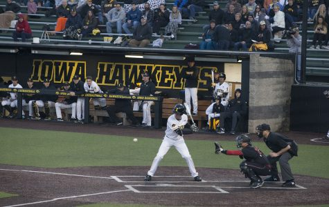 Numbers behind Iowa baseball's doubleheader against Rutgers