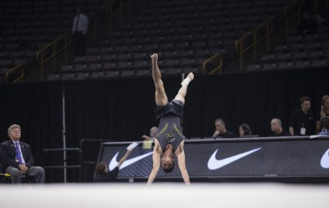 Hawkeye men's gymnasts rally on Day 2 of Big Tens