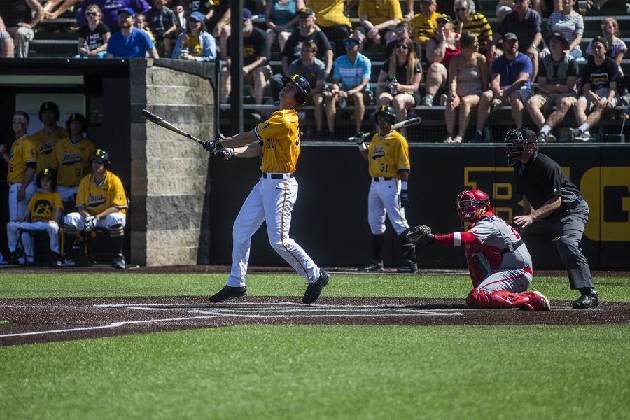 Photos: Baseball vs. Nebraska: Game 3 (4/21/19)