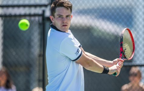 Photos: Iowa men's tennis vs. Michigan, Illinois State (4/21/2019)