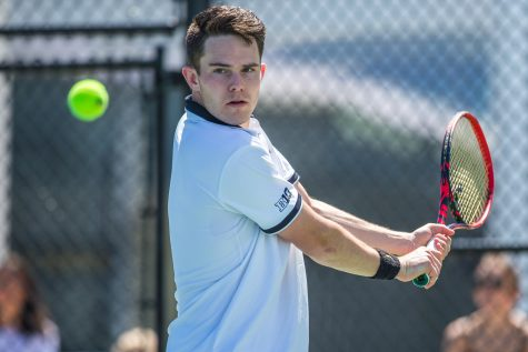 Iowa tennis hopes alive in Big Ten Tournament