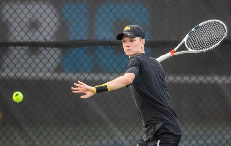 Iowa tennis ends Big Tens in quarterfinals