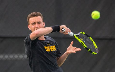 Historic season continues for Hawkeye men's tennis