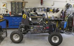 Iowa Baja shows off newest off-road vehicle for national competition in May