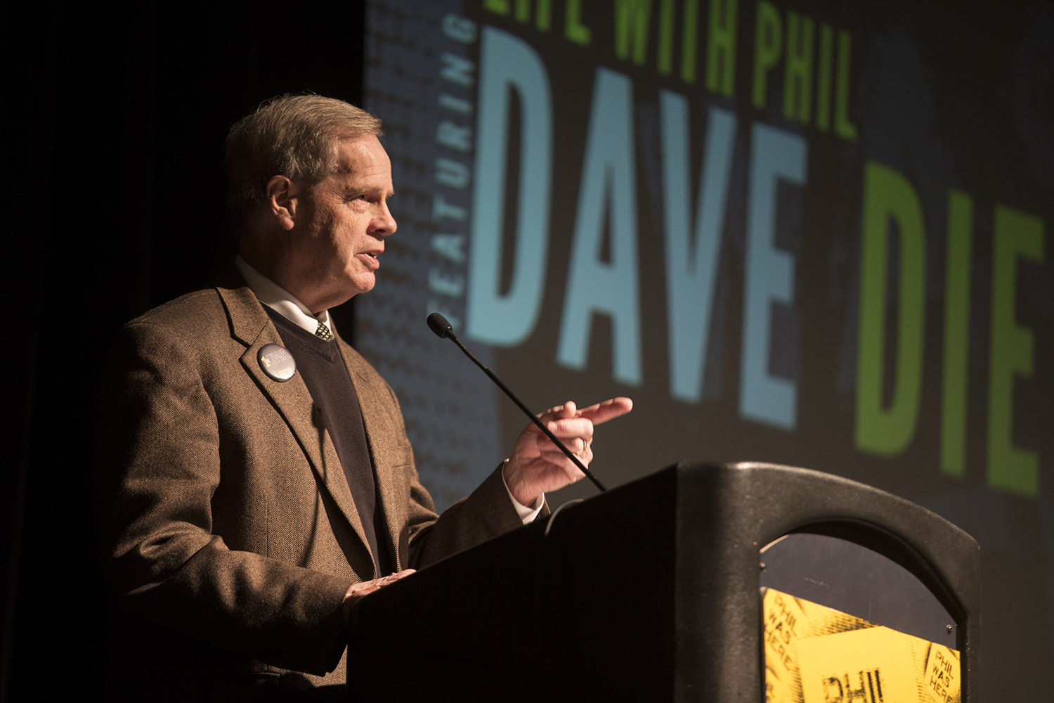 Iowa alum Dave Dierks delivers a talk entitled
