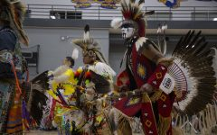 Students and community members celebrate Native American culture at the 25th UI Powwow