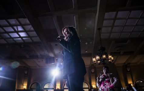 Kamala Harris wants to give Iowa teachers a $12,200 raise, she says in University of Iowa visit