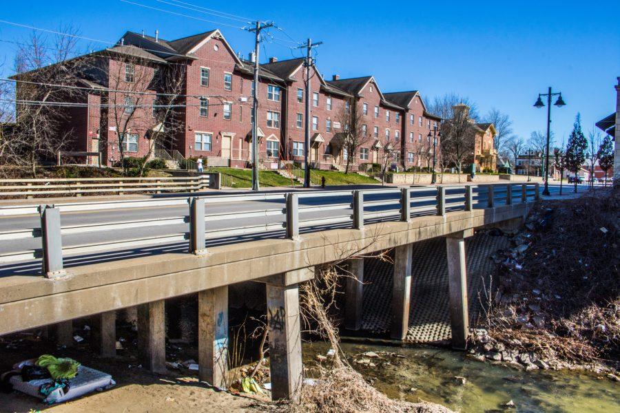The+bridge+on+Gilbert+Street+over+Ralston+Creek+in+Iowa+City+is+seen+on+Monday%2C+April+8%2C+2019.+