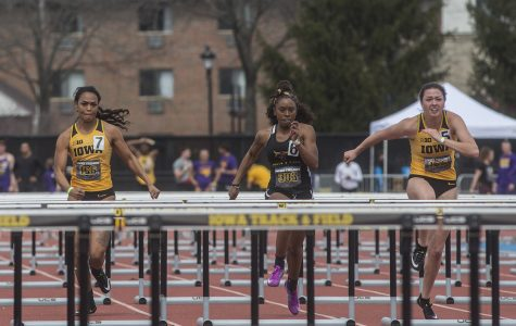 Three Iowa track athletes set personal bests in Bryan Clay Invitational