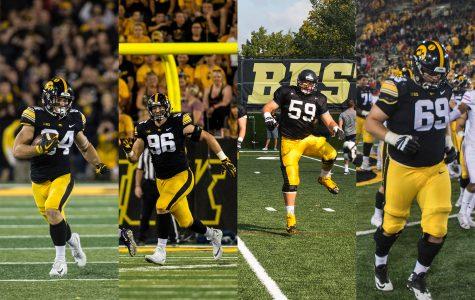 Iowa's undrafted free agents look to stick around NFL