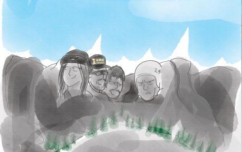 Cartoon: 'Hawk Rushmore'