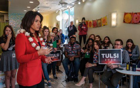 Photos: Sen. Tulsi Gabbard meet-and-greet at Yotopia