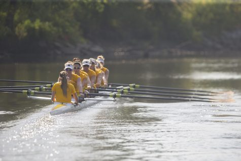 Koenigsfeld goes from running to rowing