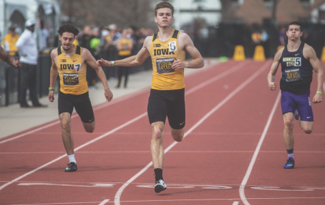 Iowa track and field senior doubles as an intern at Google