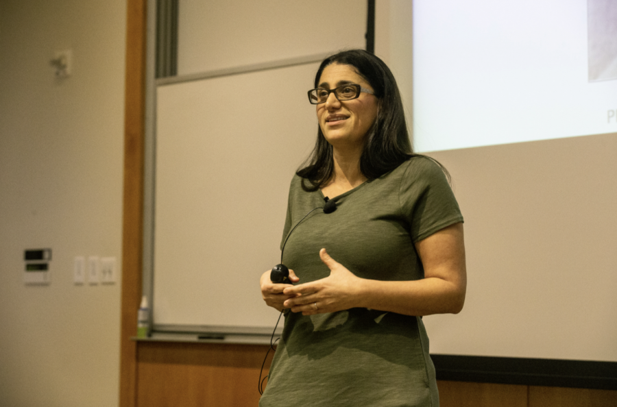 Doctor+Mona+Hanna-Attisha+speaks+during+an+event+for+the+University+of+Iowa+College+of+Public+Health%27s+Book+Club+at+the+College+of+Public+Health+on+Monday%2C+March+25%2C+2019.+Doctor+Mona+spoke+about+her+experiences+exposing+the+water+crisis+in+Flint%2C+Michigan.+The+New+York+Times+named+Doctor+Mona%27s+book+%22What+the+Eyes+Don%27t+See%22+one+of+the+100+most+notable+books+of+the+year+in+2018.