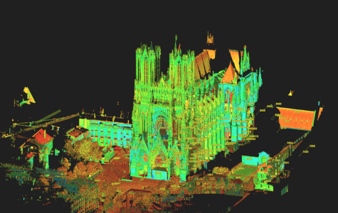 UI researchers use 3D technology to scan French cathedrals