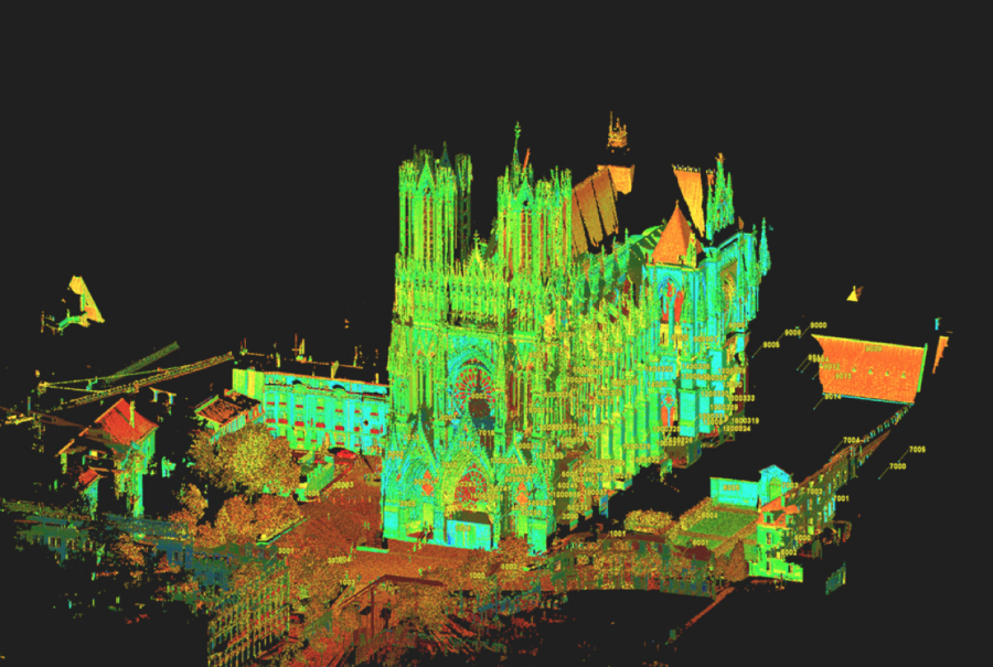 UI+researchers+use+3D+technology+to+scan+French+cathedrals