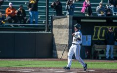 Hawkeye baseball led by newcomers entering Northern Illinois contest