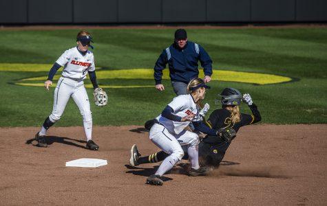 Photos: Softball vs. Illinois (4/13/19)