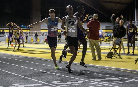 Harris, Guillory bring spark to Iowa track