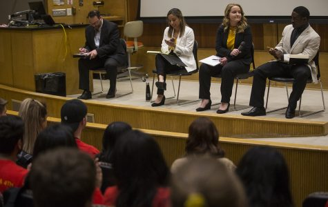 UISG presidential candidates debate platforms and campus issues