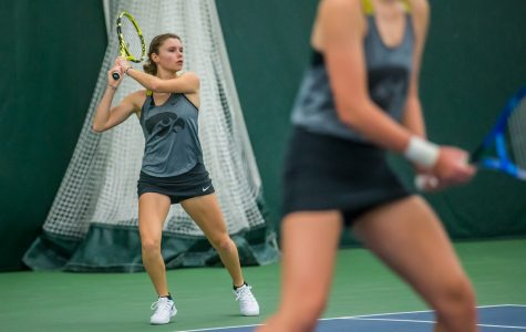 Photos: Iowa women's tennis vs. Maryland (4/7/2019)