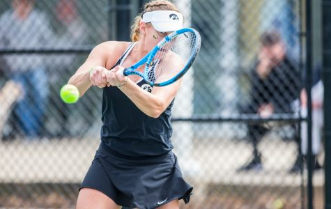 Photos: Iowa women's tennis vs. Rutgers (4/5/2019)