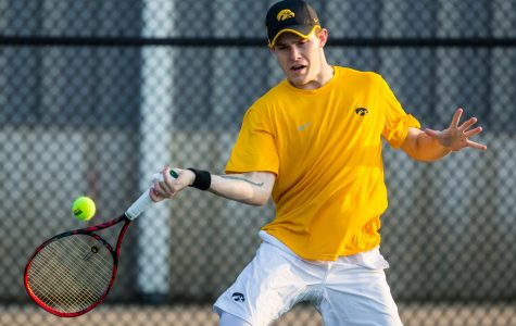 Photos: Iowa men's tennis vs. Penn State (4/5/2019)