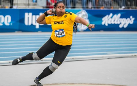 Iowa track qualifies 13 for NCAA Outdoor Championships