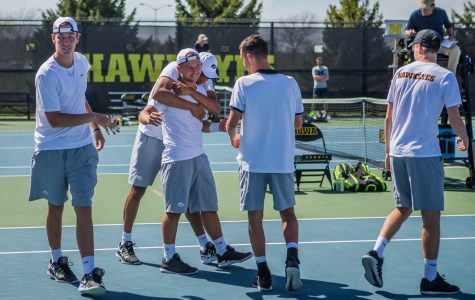 Iowa tennis preps for Big Ten tourney after wrapping up regular season